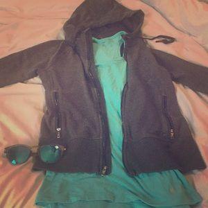 Oakley hoodie dark grey